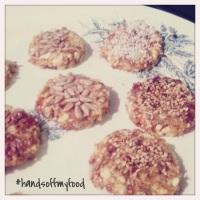 Cashewkoekjes met dadels & honing