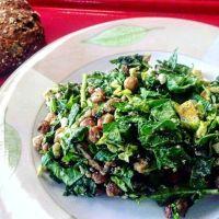 Geroosterde kikkererwten-salade