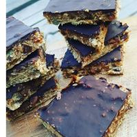 Chocolade-havermout-bars