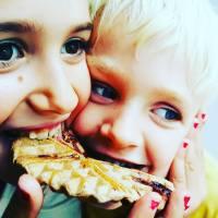 Glutenvrije chocolade-vanille wafels!