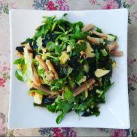 Wakame-Salade (Alleen voor zeemeerminnen!)