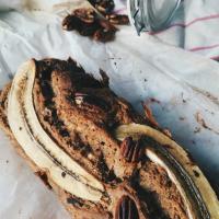 Bananenbrood met een vleug Nutella. Versie #6